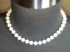 """New With Tag Pearl Necklace 16"""" Department Store Closeout Dress Jewelry"""