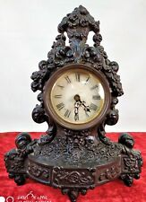 CLOCK. CAST IRON. PAINTED SPHERE. WITHOUT MACHINERY EUROPE(?). XIX CENTURY