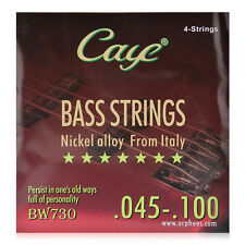 CAYE BW730 4pcs Electric Bass Strings (.045-.100) nickel alloy