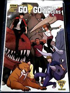 GO GO POWER RANGERS_Boom!_#4_rare Fried Pie variant cover by Gurihiru_NM