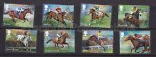 More details for gb qeii mnh stamp set 2017 racehorse legends sg 3940-3947