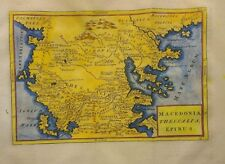 Antique Map of Greece and Macedonia by Christoph Cellarius 1764