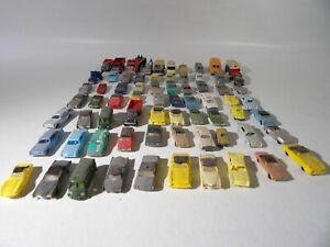 70 N scale Mixed Cars and Trucks #B210 Lot.