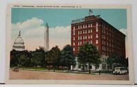 Washington DC Hotel Commodore Union Station Plaza Postcard H5