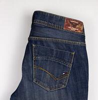 Tommy Hilfiger Femme Rhonda Bootcut Miami Foncé Jeans Bleu Taille W32 L32 ALZ233