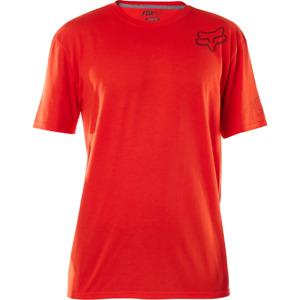Fox Racing Mens Confirmation Short Sleeve Tech Tee Shirt Flame Red Medium