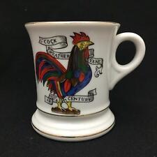 Vintage Mustache Cup COCK WEATHER VANE 19 CENTURY