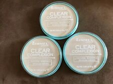 Rimmel Clear Complexion Clarifying Powder #021 Transparent X3 Pack