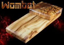 Macdaddy Wombat, hand made solid timber stomp box, foot drum