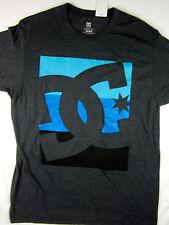 DC Shoes skate premium soft 50/50 short sleeve t shirt men's charcoal MEDIUM