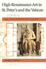 High Renaissance Art in St. Peter's and the Vatican: An Interpretive-ExLibrary