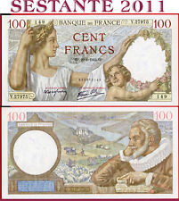 1942 VF with a little strain Lemberg-Zp France 500 Francs 15.10