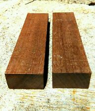 knife handle scales Mahogany !!! Each piece measures 150x40x25mm