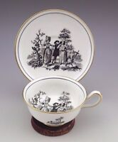 Unique Vintage Royal Chelsea England Tea Cup and Saucer Signed