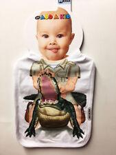 NEW Add a Kid Infant Toddler Boy's Oversize ALLIGATOR Gator BIB Made in USA
