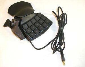 Video Game Accessory, Black Razer Tartarus Chrome RZ07-0151 Gaming Keypad