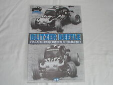 Tamiya 1/10 RC - Vintage - Manuel Manual Blitzer Beetle (Original) 58122 - Used