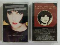 Linda Rhonstadt Cassette Tape Bundle SEE DESCRIPTION FOR TITLES