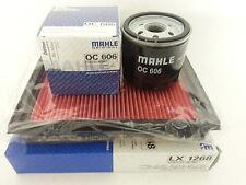 Ford Fiesta MK 5 1.3 1297 cc Genuine Mahle Oil Air Filter  2002-09 Service KIt