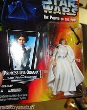 STAR WARS PRINCESS LEIA POWER OF THE FORCE SERIES CARD .00  FREE U.S. SHIP