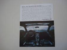 advertising Pubblicità 1988 PORSCHE 928 S4