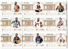 68 Different 2010-11 Panini National Treasures Basketball Base Card Lot /99