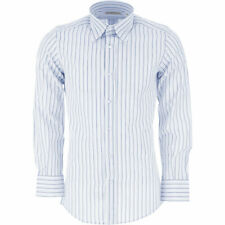 D&G DOLCE & GABBANA Mens Stripe Shirt Formal RRP £85