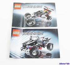 LEGO BAUANLEITUNG Technic Technik 8066 Geländewagen Jeep Neu TOP No PARTS