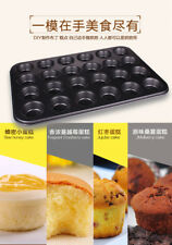 24 Non-stick Cup Cake Moulds