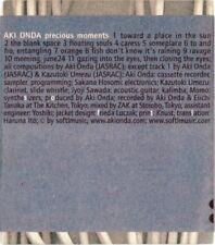 Aki Onda : Precious Moments [CD, Softlmusic] VG+