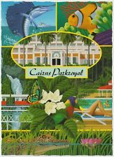 Cairns Parkroyal Hotel - Vintage Postcard