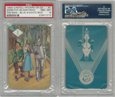 1940 Castell Card, Wizard Of Oz, #1 Dorthy, Scarecrow, Tin, PSA 8 NMMT