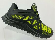 New Adidas Vigor Bounce Men's Trail Runner BB8380 Black Shock Slime Size