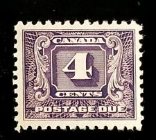 1930 Canada 4c Postage Due Stamp J8! Mint MNH BOB VF! CV $40