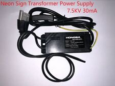 110VAC 7.5kV 7500 volts 30mA New Neon Sign Transformer Electronic Power Supply