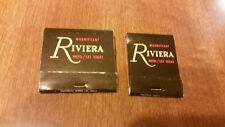 Vintage Matchbooks Riviera Hotel Casino Las Vegas Nv Nevada