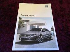 Volkswagen Passat 2009 Car Sales Brochures