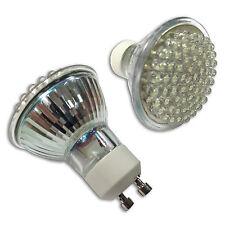 2 x 2.8w GU10 finelite 60 led SMD luce del giorno bianco Luce Spot ENERGIA RISPARMIO LAMPADINE DA