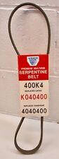 400K4 Armor Mark Serpentine Belt USA made NOS xref. DAYCO 5040400
