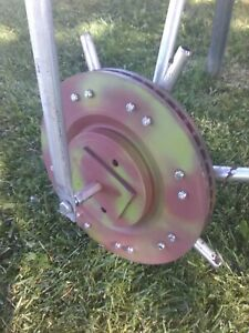 AMICK ROLLAERATOR, Heavy disk, long core tines, a must have for lawn owners