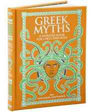 *New* GREEK MYTHS: A WONDER BOOK FOR GIRLS by Nathaniel Hawthorne Leatherbound