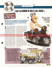 BMW R60/2 ( R 60 600 Série 2 ) 1969 Joe Bar Team Fiche Moto #000866