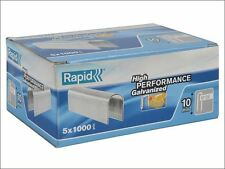 Rapid - 28/10 10mm DP x 5m Galvanised Staples Box 5 x 1000