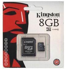 Cartes mémoire Kingston pour téléphone mobile et assistant personnel (PDA), 8 Go