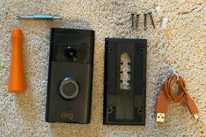 Ring Video Doorbell 2nd Gen Security Doorbell in Venetian Bronze