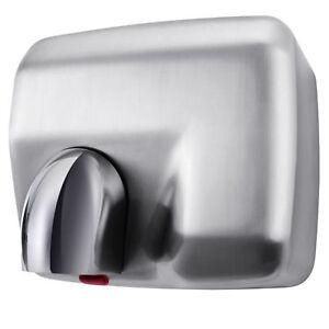 Aquarius Storm Hand Dryer Brushed Satin