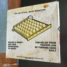 HovaBator Auto Egg Incubator Turner 1610 Chicken Quail for 41 eggs