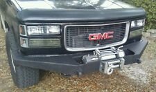 Chevy GMC 1500 Front Winch Bumper K1500 K2500 1988-98' With Tow Point Chevy 3500