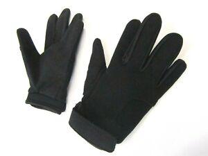 Wulfsport Plain Black motocross Adult gloves size XLarge motorbike kart Car MTB