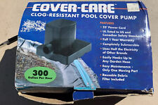 Danner Cover-Care Clog -Resistant Pool Cover Pump 300 Gph 2540 Open Box